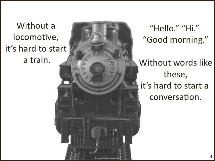 the conversation train